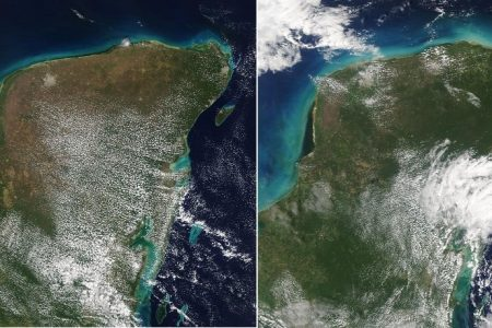 La Península de Yucatán, más verde en este marzo de 2021
