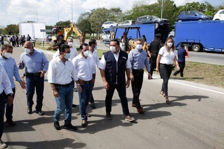 En marcha la construcción de puentes peatonales en el Anillo Periférico de Mérida