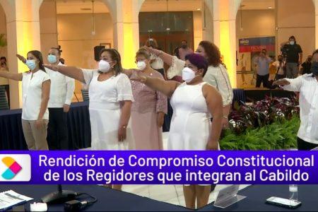 Se integran nuevos regidores al Cabildo meridano