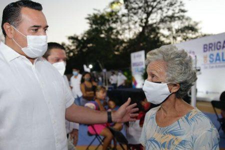 Seguiremos firmes en las gestiones hasta recibir vacunas para Mérida: Renán Barrera