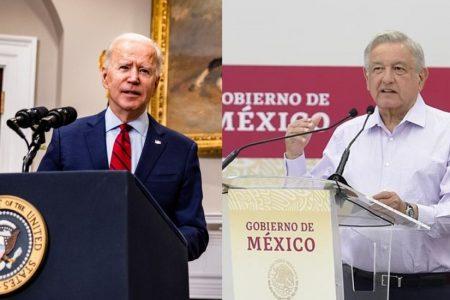 Vacunación, tema central de reunión virtual entre López Obrador y Biden