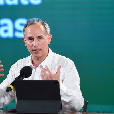 Senador pide destitución de Hugo López-Gatell por violar leyes federales de salud