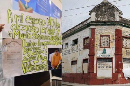 Viuda de ingeniero de la Sidra Pino pide a AMLO que le hagan justicia