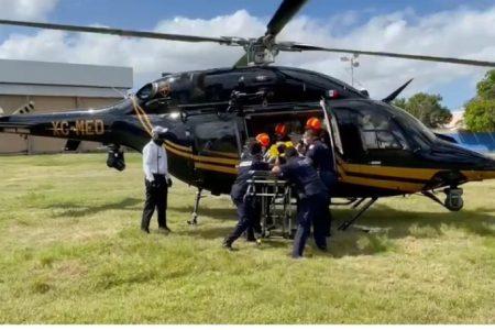 Fallece joven del sur de Yucatán trasladado a Mérida en helicóptero de la SSP