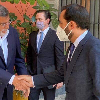 Firma el Gobernador Mauricio Vila el Acuerdo Nacional por la Democracia