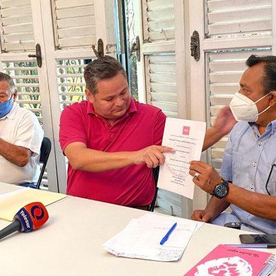Se suman a Fuerza por México líderes de lucha social