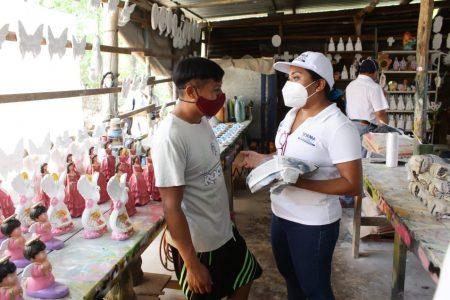 Trabajando en equipo vamos a atraer más inversiones a Yucatán: Yesenia Polanco