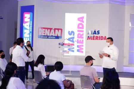 Seguiremos escuchando y apoyando con mejores oportunidades a los jóvenes: Renán Barrera