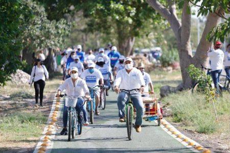 Más Mérida con más infraestructura ciclista, asegura Renán Barrera
