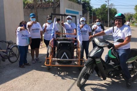 Trabajaremos para todos en Chichimilá, ofrece Karina Pacheco