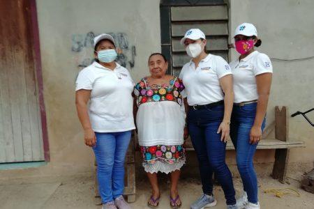 Comisaría de Chichimilá externan apoyo a Karina Pacheco