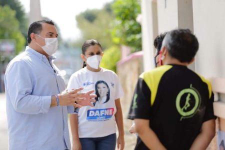 Hechos, no promesas, mi principal respaldo: Renán Barrera
