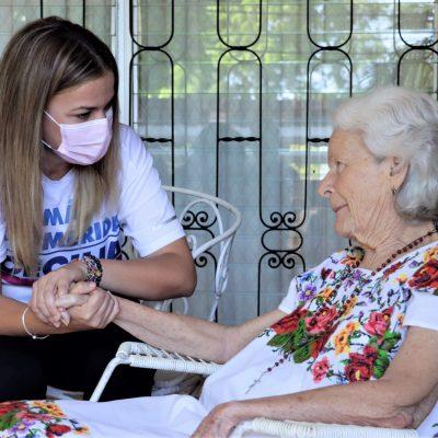 Con bendición materna, comienza su campaña Cecilia Patrón, candidata del PAN a diputada federal del IV Distrito