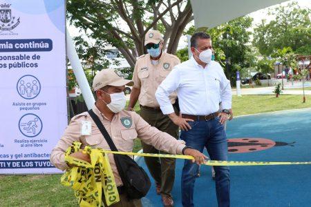 Ayuntamiento reabre parques y reactiva actividades en Mérida por semáforo amarillo