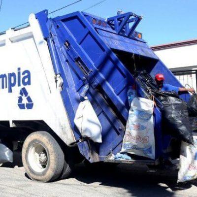 La recolección de basura no se suspenderá el 1 de mayo