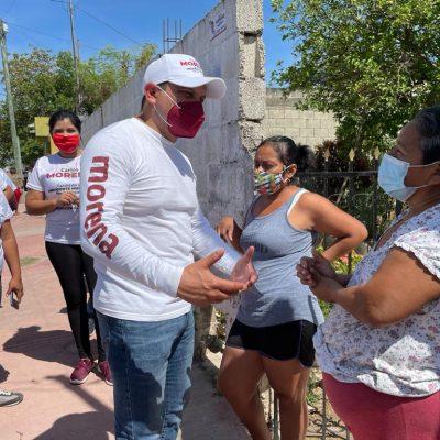 Declinan por Moreno en Kanasín