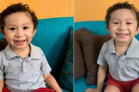 Primer niño beneficiado en la Península de Yucatán por la fundación Lilo México
