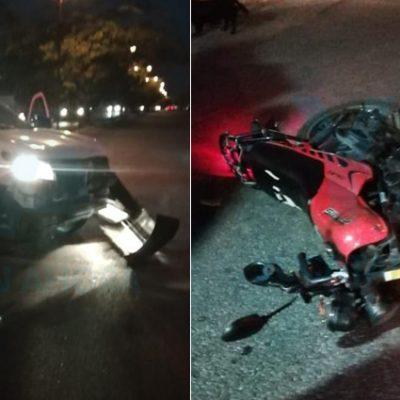 Fallece un motociclista tras ser chocado en Montecarlo