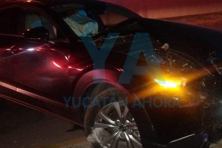Menor alcoholizado choca con una camioneta en Montes de Amé