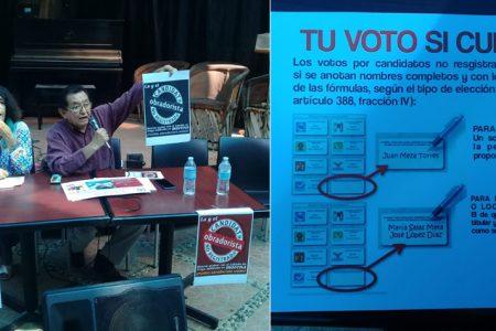 Ni por su partido votarían los morenistas, apuestan a candidatos no registrados
