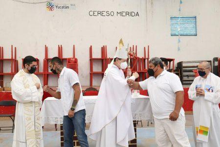Celebran la Semana Santa en el Cereso de Mérida