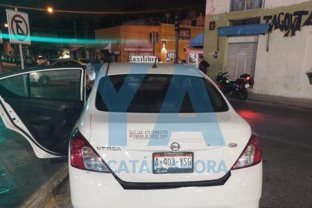 La muerte sorprendió en un taxi a una viajera que recién llegaba a Mérida procedente de Tabasco