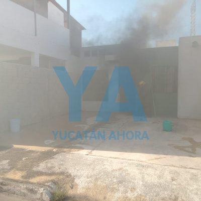 Se incendia una cocina en el fraccionamiento Los Héroes