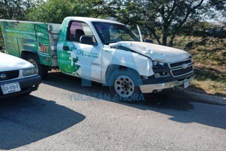 Trágico accidente en el Periférico: camioneta de la CFE atropella a una transeúnte