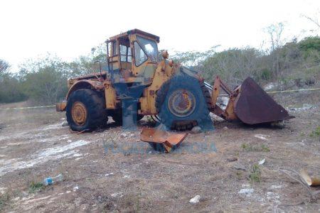 Terrible muerte de un trabajador en un banco de piedras: le cae encima un trascabo