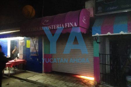 Se incendia pastelería en el centro de Kanasín