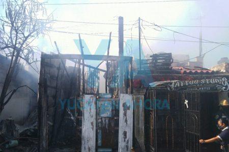 Se incendia una casa en Progreso