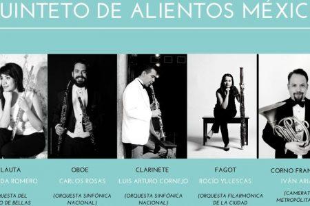 Galería Caracol Púrpura Mérida presenta un concierto con mucho aliento