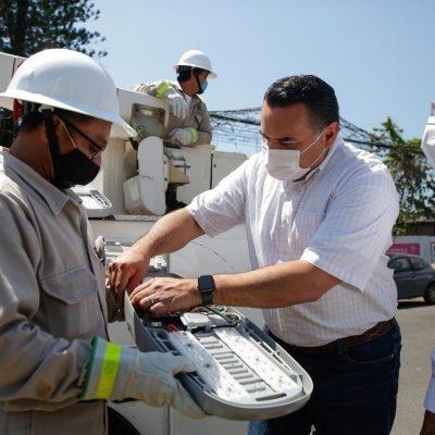 Cambio de luminarias en Mérida: ahora serán LED de 100 Watts
