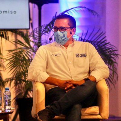 La recuperación económica es la columna vertebral de las propuestas del PAN, afirma Víctor Hugo Lozano