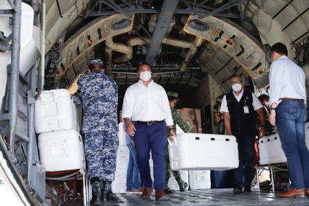 Llegan 129,600 vacunas para Mérida: esperanza de que empiece a ceder la pandemia de Covid-19 en Yucatán
