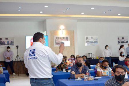La estructura del PAN en Mérida, lista para arrancar campaña el 9 de abril
