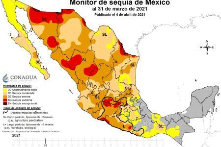 La Península de Yucatán lleva 10.5 meses sin sequía