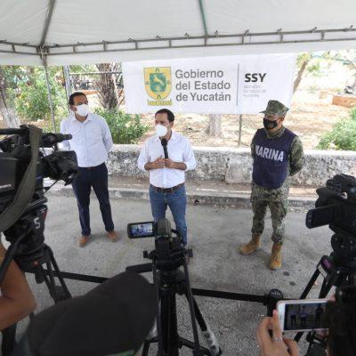 Mauricio Vila pide a los meridanos que acudan a vacunarse en el día, la hora y el módulo que les corresponde