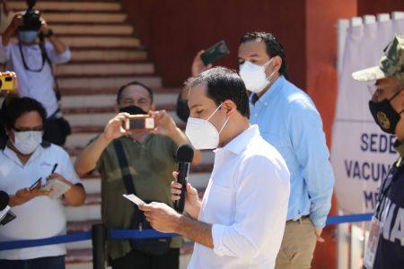 En el primer día de vacunación en Mérida se aplicaron 11 mil dosis