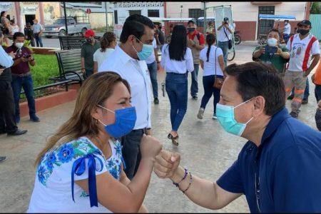 Con llamado a la unidad, Carmita González arranca campaña en Ticul