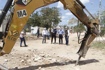 Continúa la construcción de calles en la Emiliano Zapata Sur III, informa el alcalde interino Alejandro Ruz