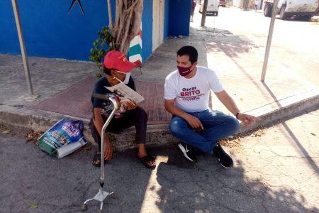 Siempre regresar al territorio, principio nodal en mi agenda: Oscar Brito Zapata