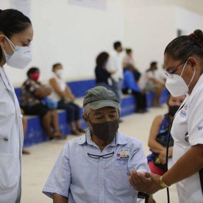 Ya se aplicaron 150 mil vacunas contra Covid-19 a adultos mayores de Yucatán
