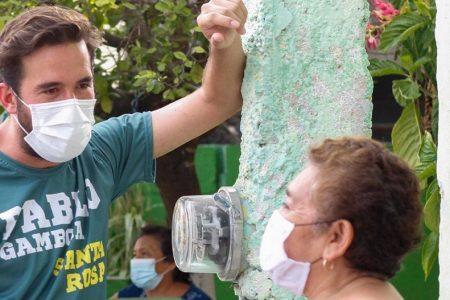 Gestiones para que no falten las medicinas, ofrece Pablo Gamboa en Mérida