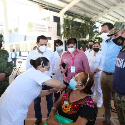 En Yucatán vacunarán a 67,455 docentes y personal educativo en escuelas públicas y privadas