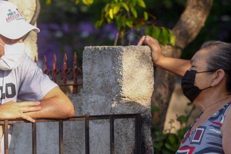 Rescate y nuevos espacios públicos, piden a Pablo Gamboa en el sur de Mérida