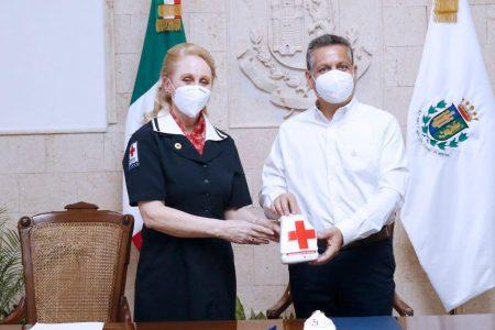 El Ayuntamiento se suma a la Colecta Anual 2021 de la Cruz Roja Mexicana