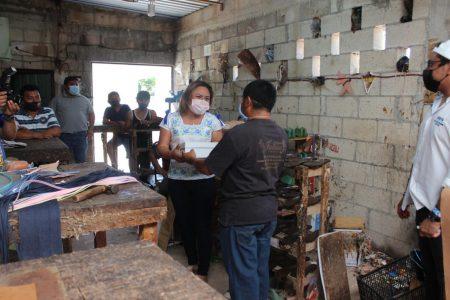 Carmita González gestionará nuevo impulso a la industria del calzado en Ticul