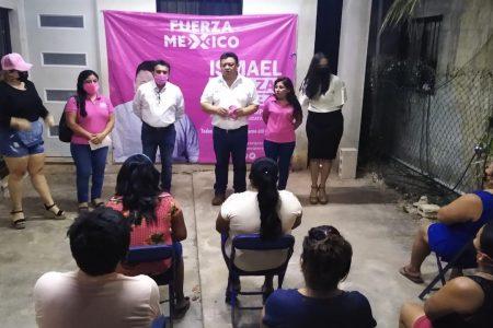 Soy un candidato que viene del pueblo: Ismael Peraza