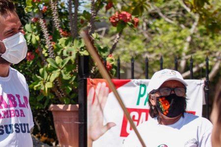 Mariachi femenil confirma a Pablo Gamboa la falta de apoyos en el distrito